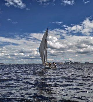 Тренировка на яхтах 19 мая