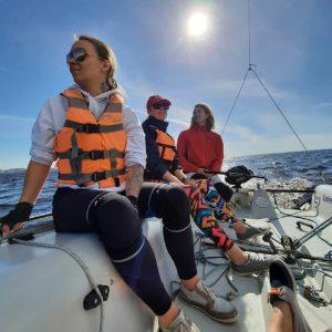 Тренировка школа яхтинга Sportyachts