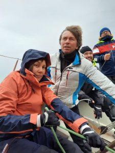 Тренировка на яхте