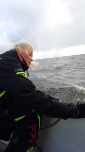 Тренировка на яхте СПб