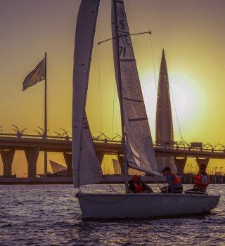 Регата Sunset race